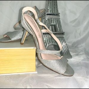 - Aldo Shoes silver Sparkle (size 8)